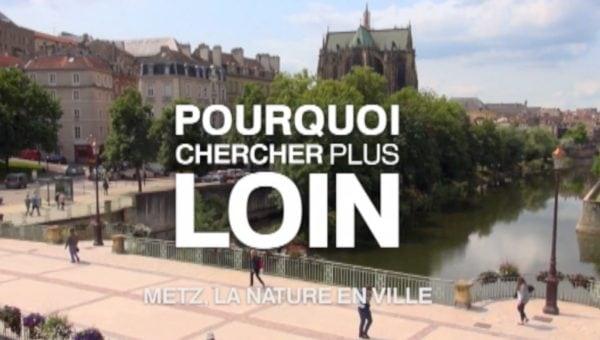 Metz La nature en ville